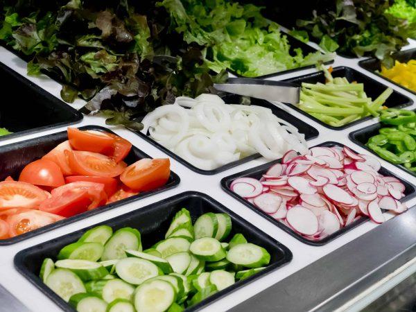 Saladette Auswahl Gemüse