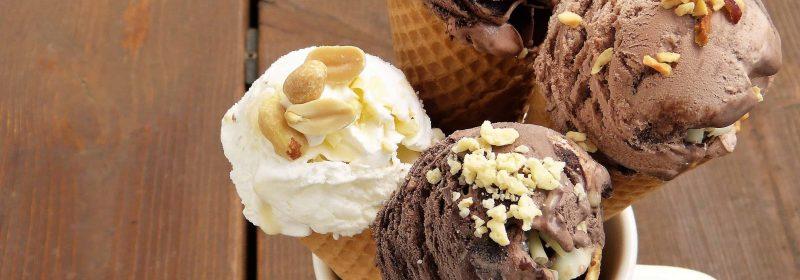 Eismaschine Schokolade