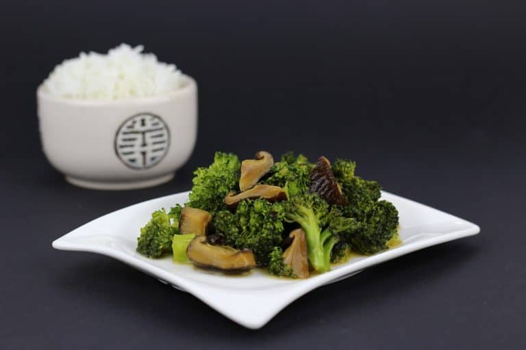 Gebratenes Gemüse und Reis