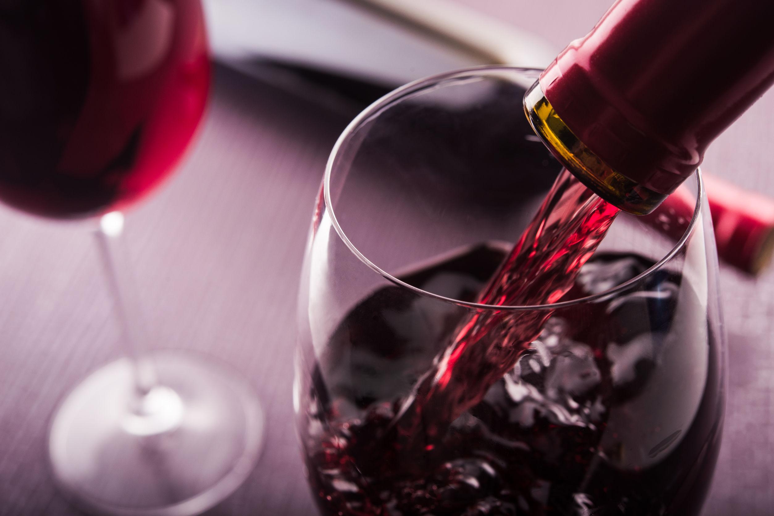 rotweinglas-test